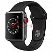 京东秒杀:Apple Watch Series 3智能手表(GPS+蜂窝款 38毫米 深空灰色铝金属表壳 黑色运动型表带 MTGL2CH/A)