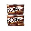Dove/德芙 丝滑牛奶巧克力 252g*2碗装