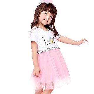 女童连衣裙小女孩可爱公主裙子(3色选)