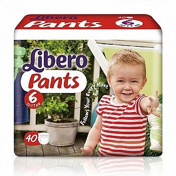 Libero 丽贝乐 婴儿拉拉裤 XL码40片