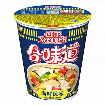多款可选:日清 合味道方便面 海鲜风味84g*20杯
