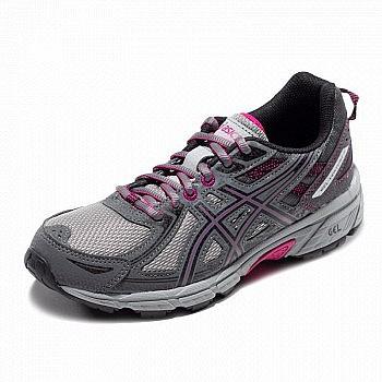 双11预售: ASICS 亚瑟士 GEL-VENTURE 6 T7G6N-4990 越野缓冲跑步鞋
