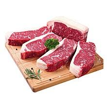 京觅 澳洲ABERDEEN BLACK 西冷牛排1kg(5片)